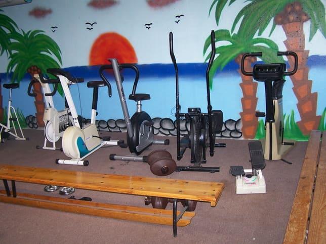 Gym im Feriencamp