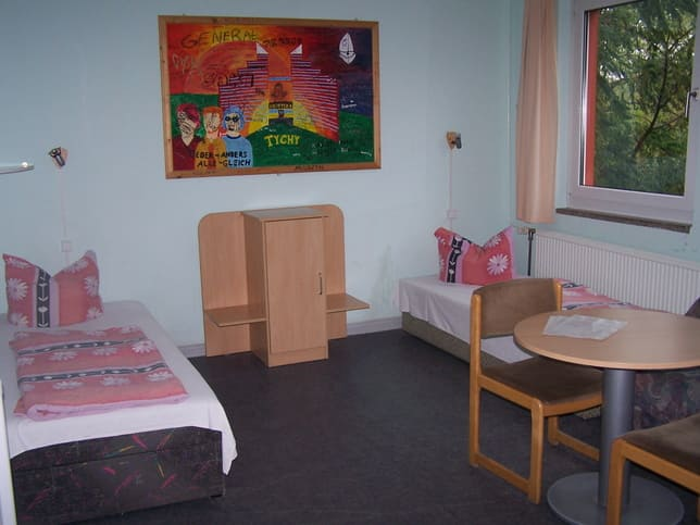 Zimmer des Ferienlagers