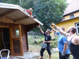 Erstes Bauprojekt des Leuchtturm Thüringen e.V.