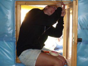 Fenster richtig einsetzen
